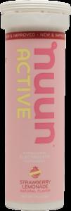 NuunActive Tablets Strawberry Lemonade