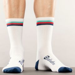 Socks Bellwether Tilt White