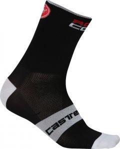 Castelli Rosso Corsa 13 Socks Black