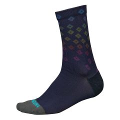 Endura PT Scatter LTD Socks Navy
