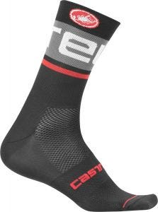 Castelli Free Kit 13 Inch Socks Black/Dark Gray