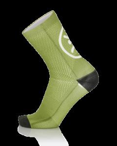 MB Wear Fun Smile Green Socks