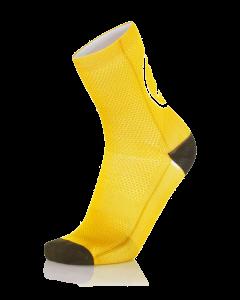 MB Wear Fun Smile Yellow Socks