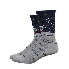 """Defeet Aireator 6"""" Cycling Socks Moon Doggo"""