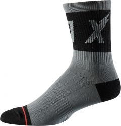 "FOX Trail 6"" Socks Pewter"
