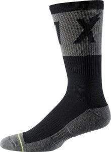 "FOX Trail Cushion 8"" Socks Black"