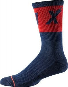 "FOX Trail Cushion 8"" Socks Navy"