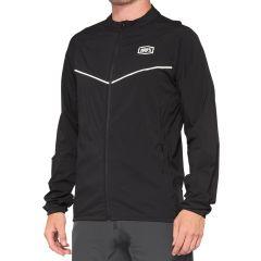 Jacket 100% Corridor Stretch Windbreaker Black