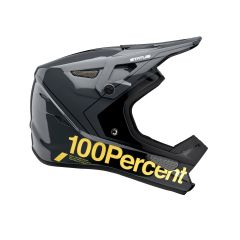 Helmet Fullface 100% Status Carby/Charcoal