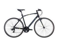 Merida Speeder 10 V Flat Bar Road Bike Black/Yellow/Grey (2020)