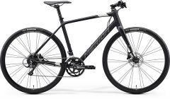 Merida Speeder 200 Flat Bar Road Bike Matt Black/Silver (2020)