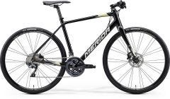 Merida Speeder 900 Flat Bar Road Bike Metallic Black/Silver/Gold (2020)