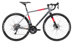Silverback Strela Sport Disc Road Bike Satin Charcoal/Watermelon (2020)