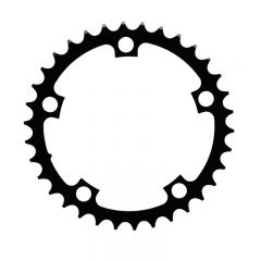 Sram Black Alloy Road Chain Ring 34T V1 110 BCD