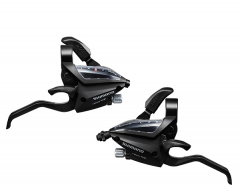 Shimano Acera 7 Speed ST EF500 EZfire STI Set Black