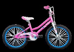 Radius Starstruck 20 Girls Bike Gloss Pink/White/Blue (2020)