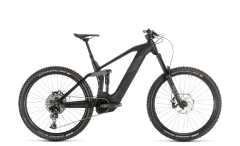Cube Stereo Hybrid 160 HPC SL 625 Electric Mountain Bike Carbon/Grey (2020)