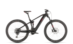 Cube Stereo Hybrid 120 Pro 500 Mountain Bike Black/Red (2020)