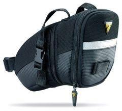 Topeak AeroWedge Pack Strap Mount Topeak AeroWedge Pack Strap Mount Saddlebag [Medium] (Black) [Medium] (Black)   99 Bikes