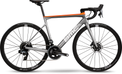BMC Teammachine SLR02 Disc One Road Bike Grey/White/Orange (2020)