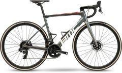 BMC Teammachine SLR One Road Bike Iridium White/Red (2021)