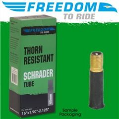 Freedom To Ride Schrader Valve Tube 26 x 1.9-2.125 48mm Thornproof