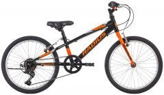 Radius Throttle 20 Boys Bike Gloss Black/Orange/Silver (2020)