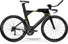 Merida Time Warp Tri Limited Time Trial Bike Black UD Silver/Green (2021)