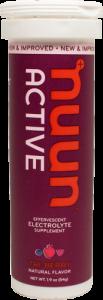 Nuun TabletsActive Tri-Berry