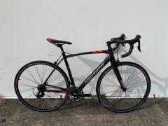 Second Hand Bike Merida Scultura 400 Road Bike Black/Red SM/MD (Burleigh)