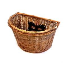 BPW Wicker Basket QR D Shape with Handle