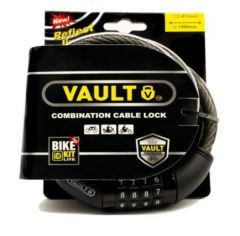 Lock Vault Combo Cable 1500 x 12 w Bike ID Kit