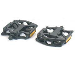 1/2inch Alloy Platform Pedal | BMX (Black) | 99 Bikes