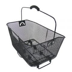 Wire Mesh Rear Basket Black QR