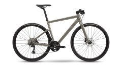 BMC Alpenchallenge 01 Two Flat Bar Road Bike Grey (2021)