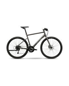 BMC Alpenchallenge Three Flat Bar Road Bike Anthracite/Grey (2021)
