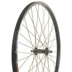 26F Alloy Nutted Wheel Black