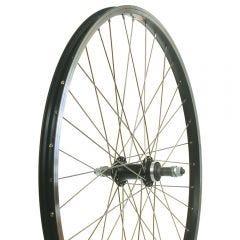 26R Alloy Nutted Wheel Screw-on Black