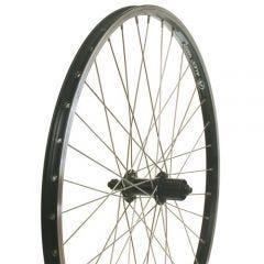 Wheel 26R 8s Cass DW QR Black BC