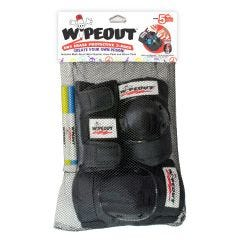 Wipeout Youth Armour Pads 3 Pack Black