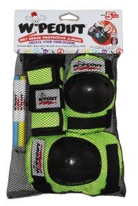 Wipeout Youth Armour 3 Pack Zest