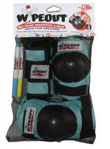 Wipeout Youth Armour 3 Pack Teal