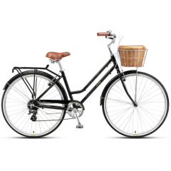 XDS Loretta Cruiser Bike Black (2019)
