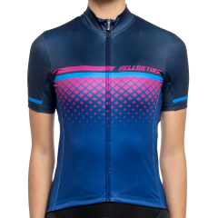Bellwether Gradient Short Sleeve Women's Jersey Navy