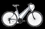 Pedal Raven 2 Women's Hybrid Bike Silver