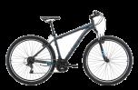 Pedal Ranger 3 Mountain Bike Black/Blue