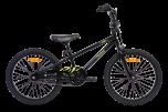 Pedal Strike Steel Boys Bike Black/Yellow