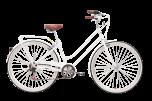 Pedal Uptown Cruiser Bike Classic White