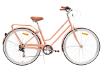 Pedal Uptown Women's Cruiser Bike Rose Gold