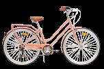 Pedal Uptown Women's Cruiser Bike Rose Gold